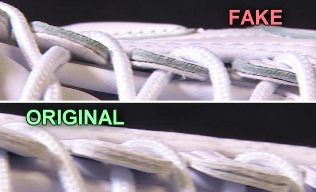 be8a31a7 Необычные молнии сбоку на внутренней стороне классических кроссовок (Fila  Clasp Lock) с трудом поддаются копированию. Точное расположение под двойной  ...