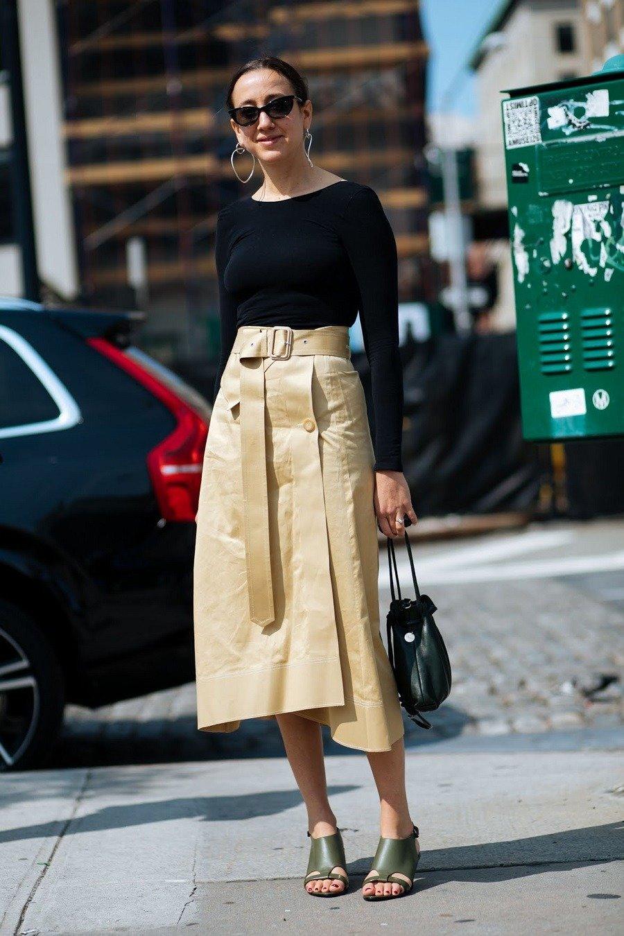 404f57c4331 Такая разная юбка миди  6 моделей на весну и лето - OSKELLY